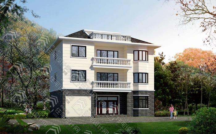 新农村三层自建房,独栋住宅全套设计施工图