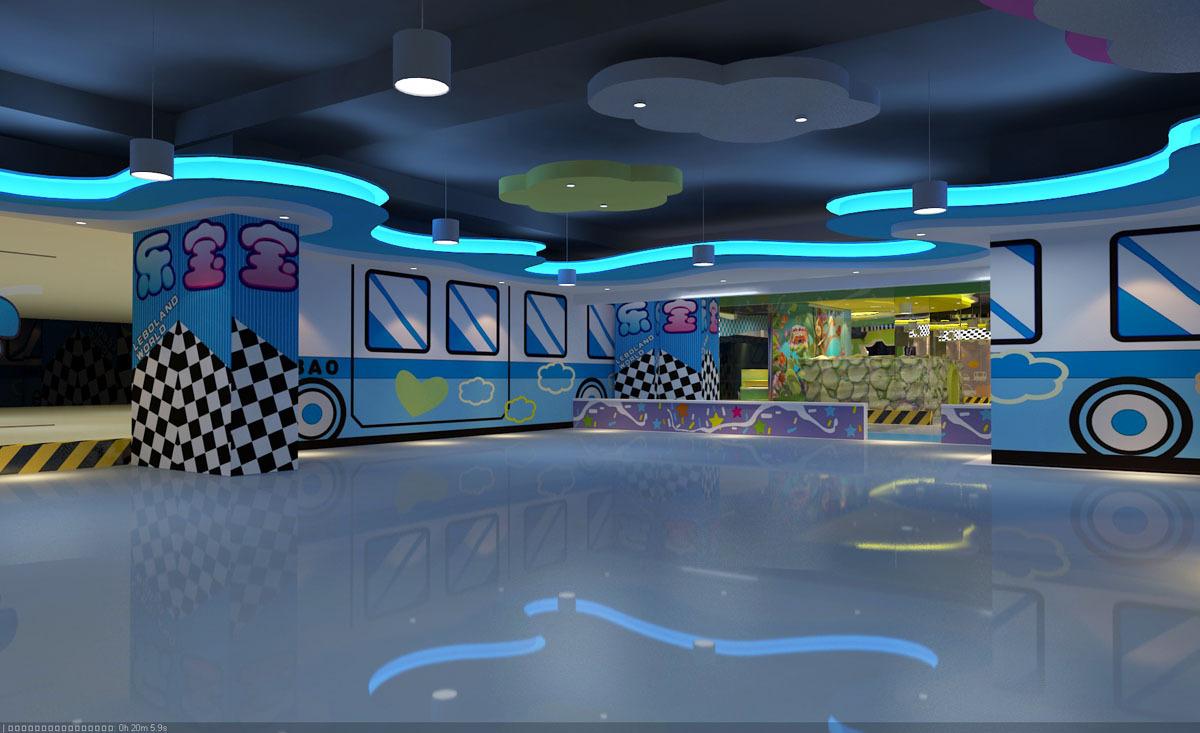 北京游乐场装修公司专业儿童游乐场环境布局创新设计