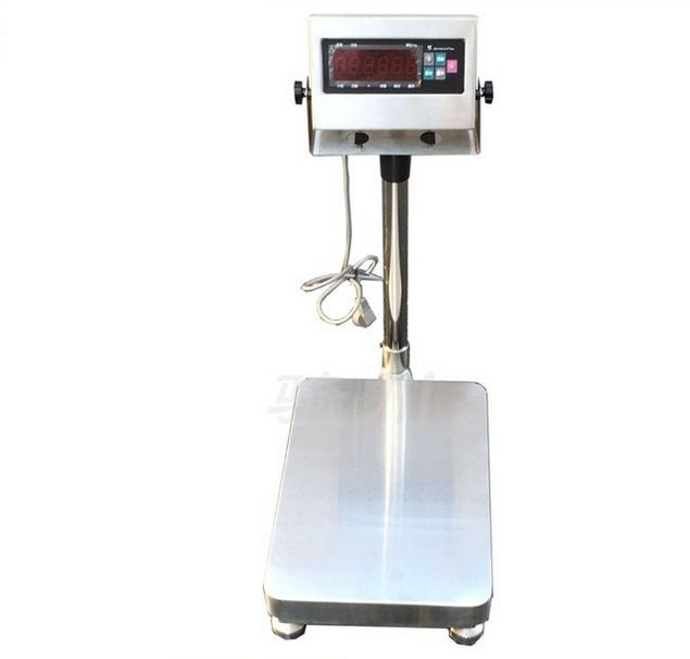 100公斤不锈钢电子秤 防水电子台秤