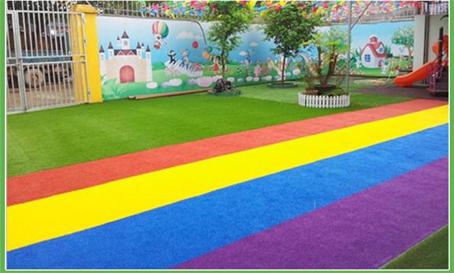 仿真草坪幼儿园足球场人造草坪