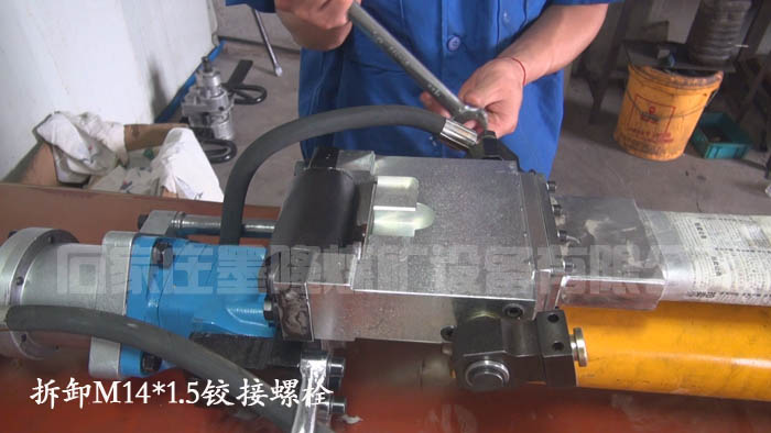 看液压锚杆钻机厂家维修操作机构的关键步骤