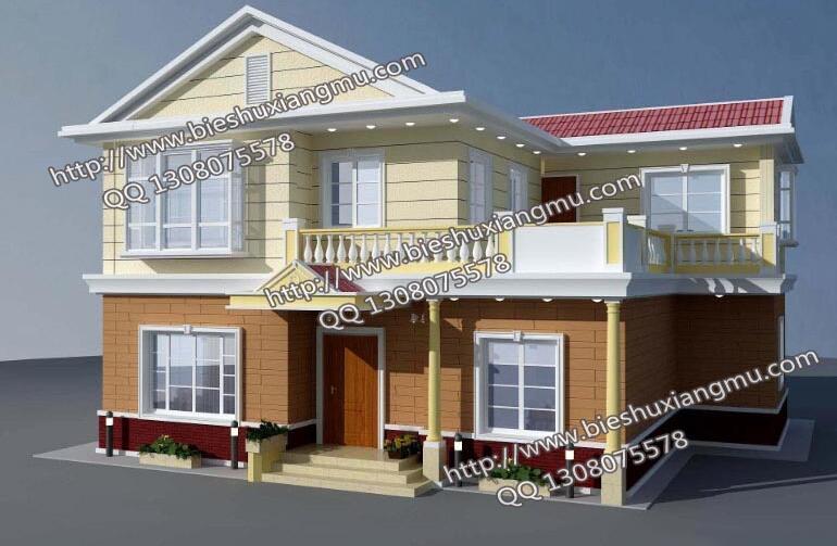 二层简单独栋别墅设计图