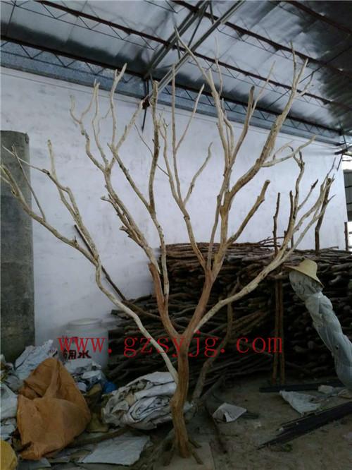 圣缘景观仿真枯树 人造枯树枝 室内装饰假枯树 假树