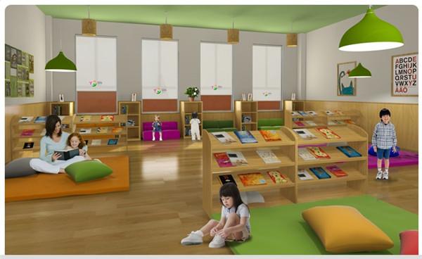 幼儿园装修设计 上海幼儿园设计 专业的幼儿园装修 对儿童来说,环境是会说话的,当他们进入幼儿园时,首先能感到环境中的色彩对心理产生的影响。是清新、温馨的还是烦糙、冷淡的。发展心理学认为,儿童时期是身心迅速发育时期,也是人一生中最能接受新鲜事物的时期,儿童时期的心理印象会影响人的一生,因此幼儿园的装修设计必须要重视起来,下面就来说说上海幼儿园装修设计要点。  1、配合建筑理念,进行合理设计 门厅是一个带楼梯的较大空间,由于连着医疗室等配套用房,墙面分割较多。为了反映幼儿园生动、活泼、可爱、有趣的特点,门厅的