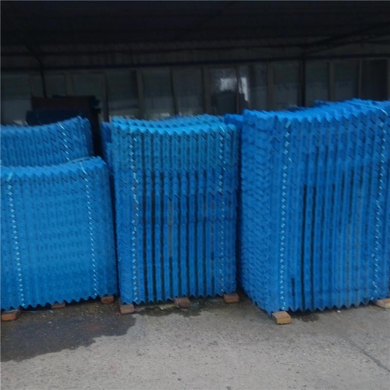西宁凉水塔填料水处理填料 逆流式冷却塔填料 斜梯式填料 s波型填料