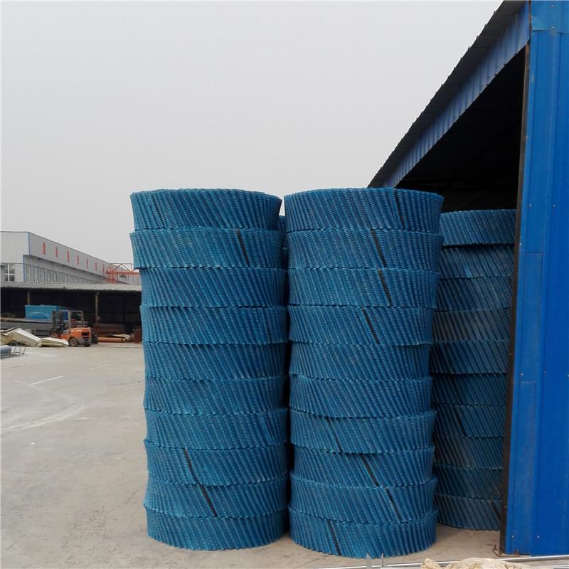 孝感电厂冷却塔六棱蜂窝填料 逆流式冷却塔填料 斜梯式填料 s波型填料
