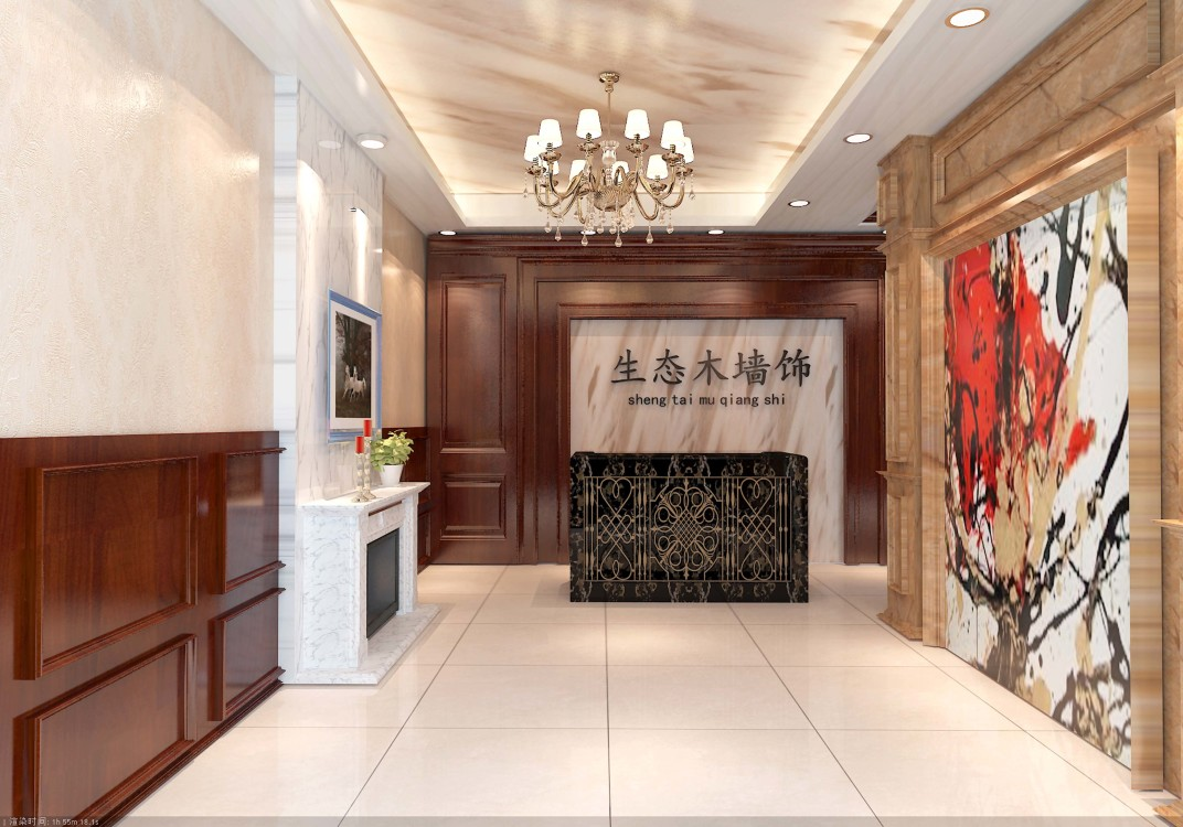 新宁集成墙板装修效果图片低价批发 集成墙面价格 集成墙面厂家