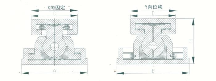 桁架球铰盆式支座 桁架球铰支座 桁架钢结构支座