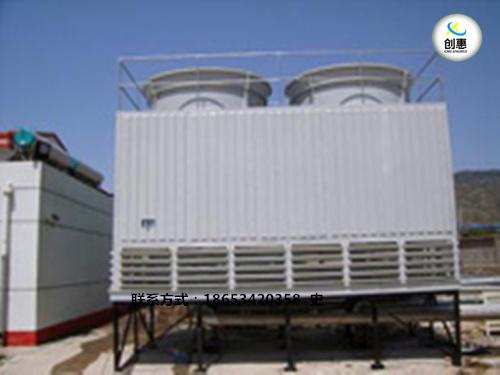 玻璃钢方形横流冷却塔厂家电话_德州创惠空调设备有限