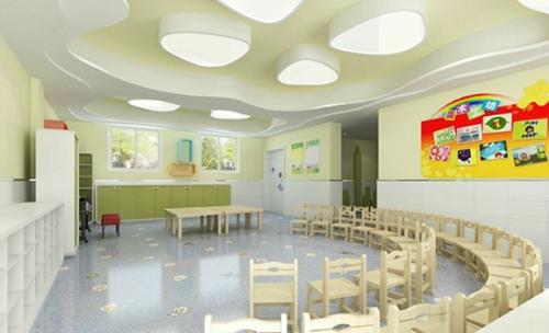 重庆北碚幼儿园学校装修设计首选-爱港装饰