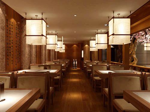 渝中区南纪门餐饮店装修 重庆餐厅装潢高清图片