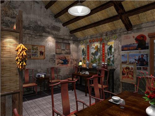 重庆渝中区怀旧主题餐厅装修,主题餐厅设计