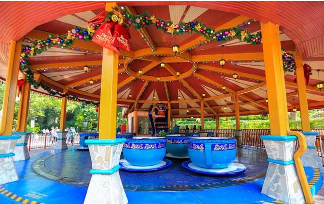 咖啡杯游樂場設備兒童公園游樂設施