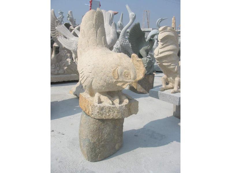 重庆动物石雕厂家:福建知名动物摆件供应商