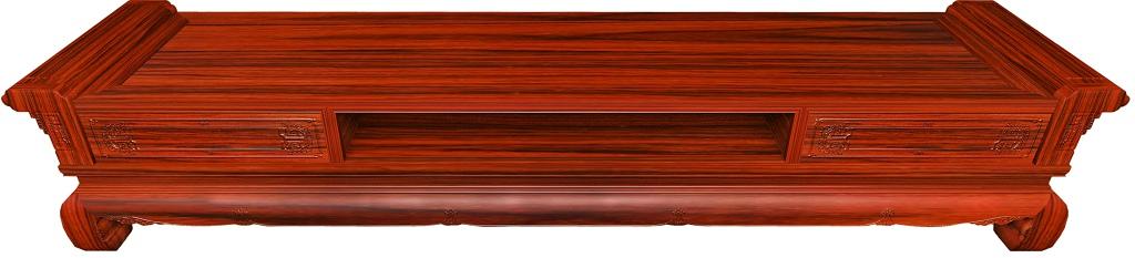 红酸枝家具 千百年红木 2.31m电视柜