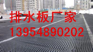 薄钇咝欠指睢瞍建筑物屋顶花园?-欢迎选购 庆阳40mm凹凸型排水板