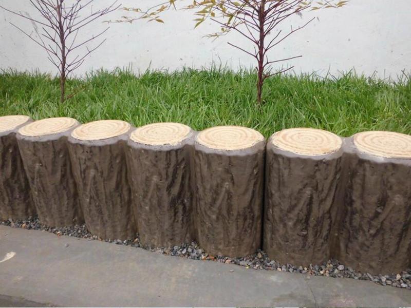 口碑好的仿木栅栏 口碑好的仿木树桩石哪里