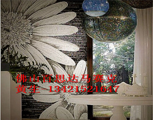 邳州马赛克水晶拼画 马赛克剪画拼图