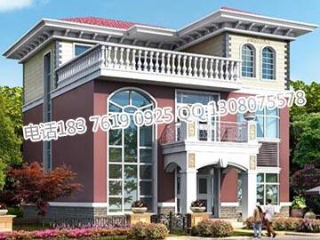 三层独栋别墅设计图 新农村住宅设计