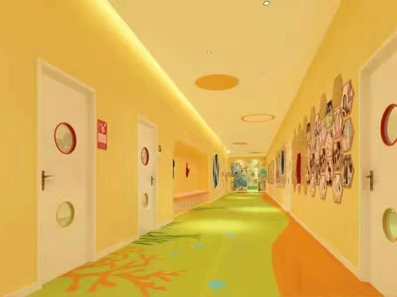 石家庄幼儿园墙壁设计彩绘制作