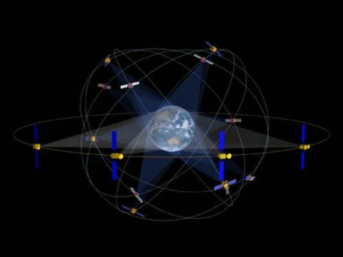 北斗卫星定位地图