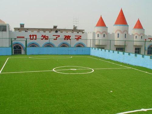 幼儿园室外运动场墙面绘画图片