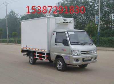 葫芦岛国五福田驭菱冷藏车生产厂家