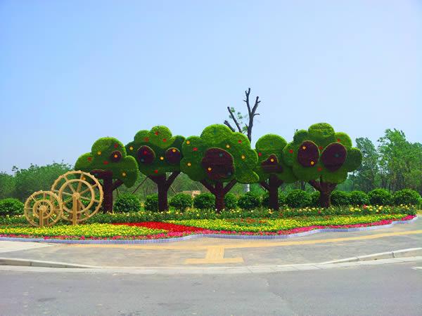 植物造型 造型景观 绿雕 景观小品