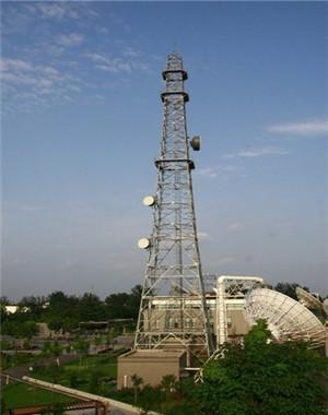 专业安装通讯铁塔施工队 铁塔安装 通讯塔安装 电视塔安装