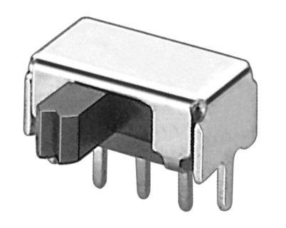 横式拨动开关SK-12D02高度可订做