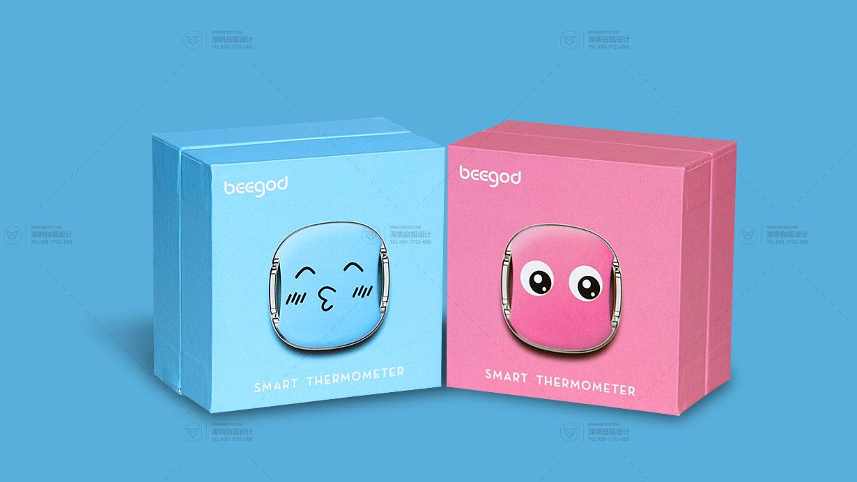 儿童体温计包装设计 产品设计 工业设计