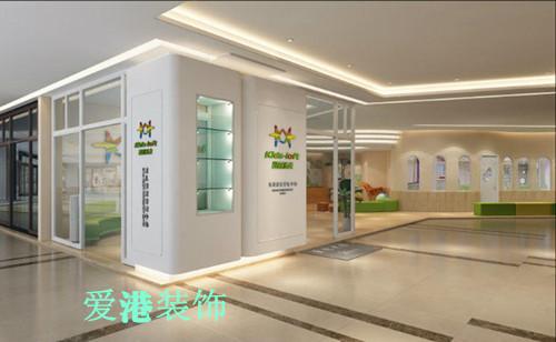 渝北区教育培训学校装修设计|重庆爱港装饰