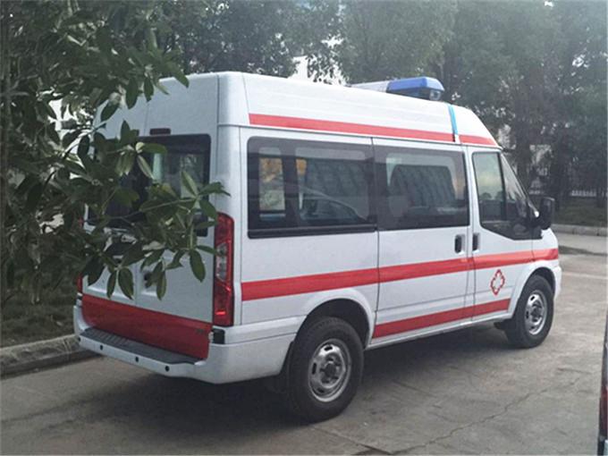江铃新世代v348全顺救护车新款问世