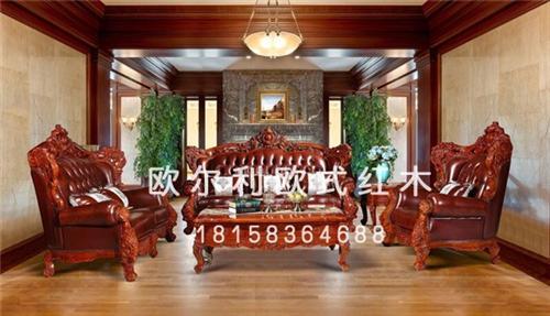 欧式红木家具厂商_北京欧式红木家具_欧尔