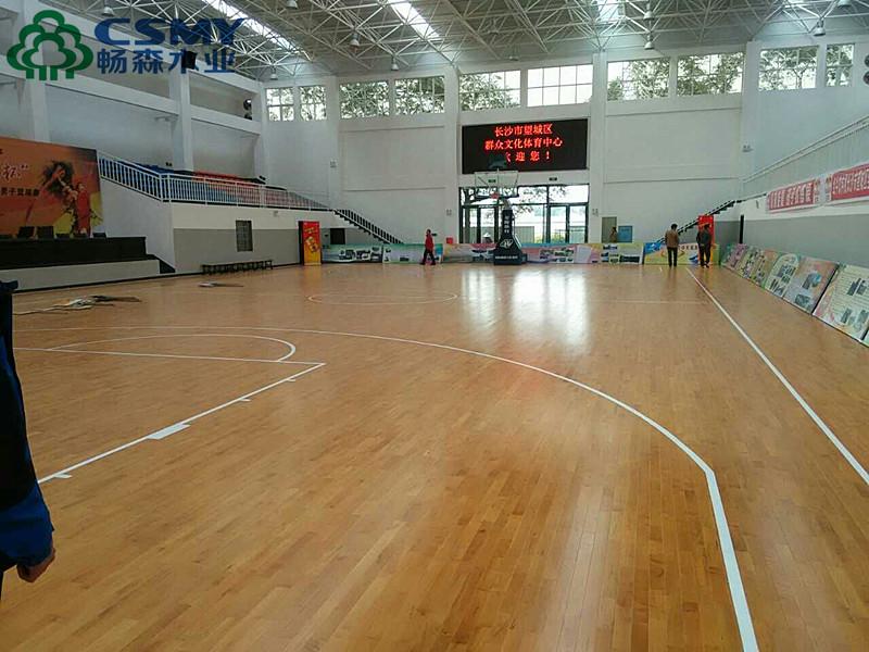 福建省南平市篮球运动木地板批发
