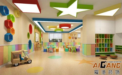 1,幼儿园装修设计要点:平面布置应功能分区明确,避免相互干扰,方便
