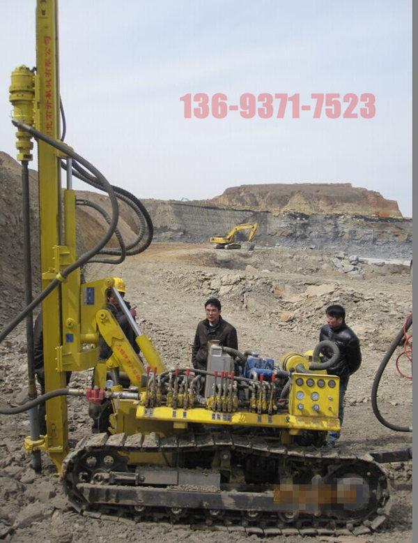 文昌市销售小型支架式潜孔钻机