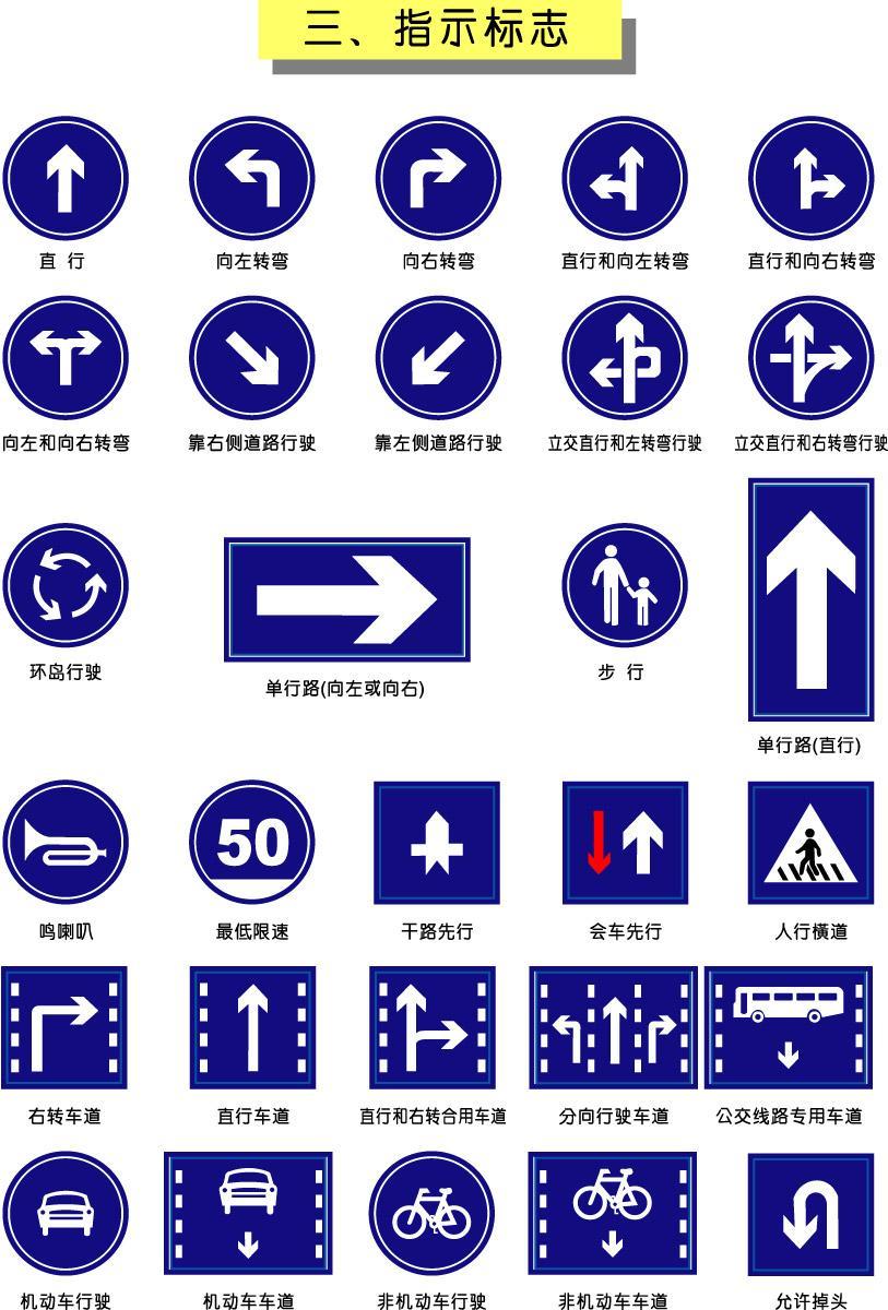 福建三明公路标志牌板/龙岩圆形标牌/标杆 三明标志牌 福建标牌标杆