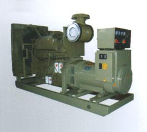 新疆訂購的300KW重康機組簡配發貨