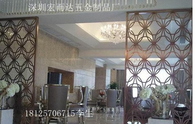 hed欧式铁艺屏风隔断酒店餐厅