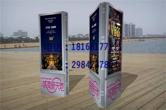 国外广告灯箱设计