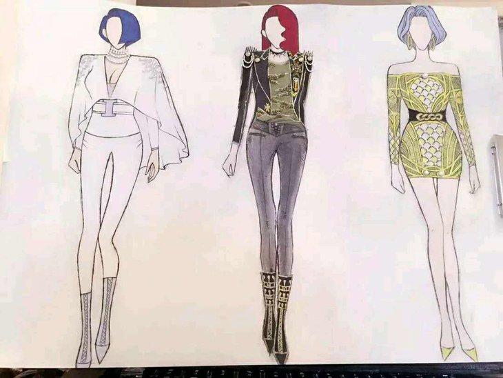 上海手绘学习,服装设计培训班