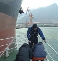 江苏海洋潜水打捞工程