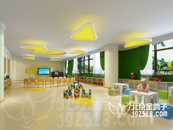 北京典型幼儿园设计案例哪家公司做的好推荐金鸽子