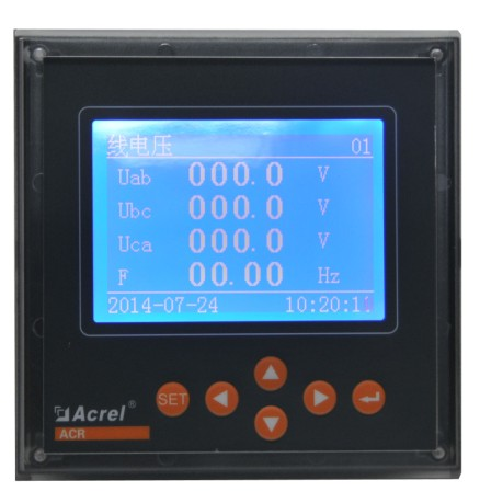 ACR330ELH液晶显示三相多功能谐波测量电表
