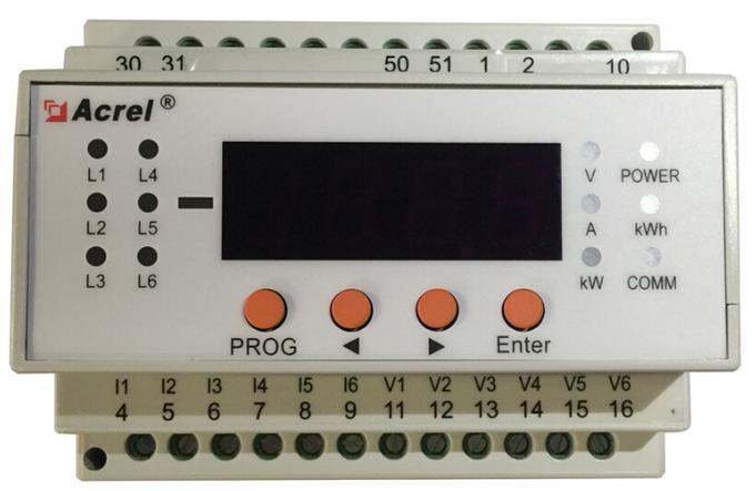 AMC16DE6数据中心直流能耗监控装置
