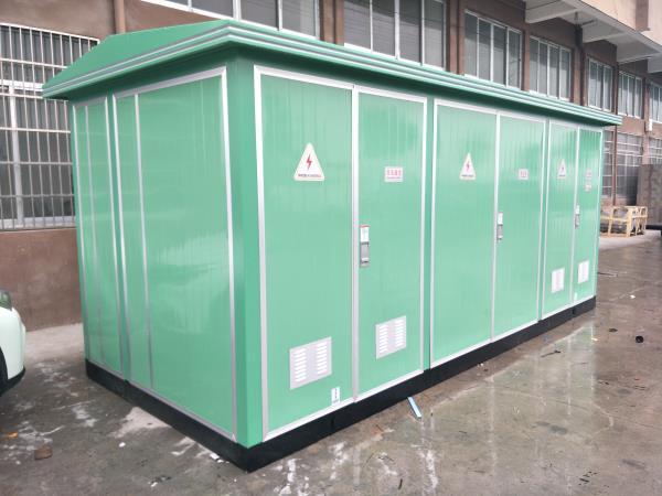 户外10kv箱式变电站生产厂家(欧式箱变)图片