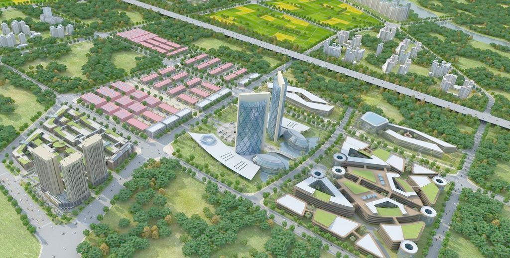 邯郸新能源智能汽车产业园可研报告新版