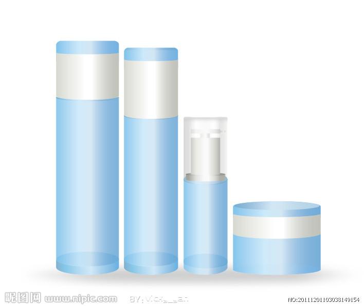 小瓶化妆品png素材