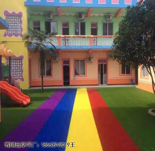 鹤壁市幼儿园学校专用铺草坪好吗(案例:鲁山县:正阳县)